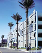 Queensway Bay Parking Structure, Long Beach, CA